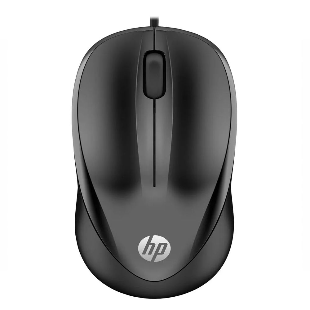 Mouse HP Usb 1000 Preto