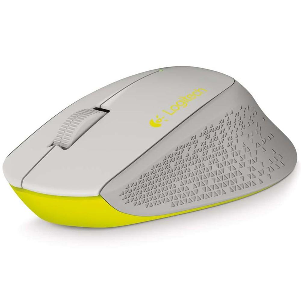 Mouse Logitech Sem Fio Nano M280 Cinza