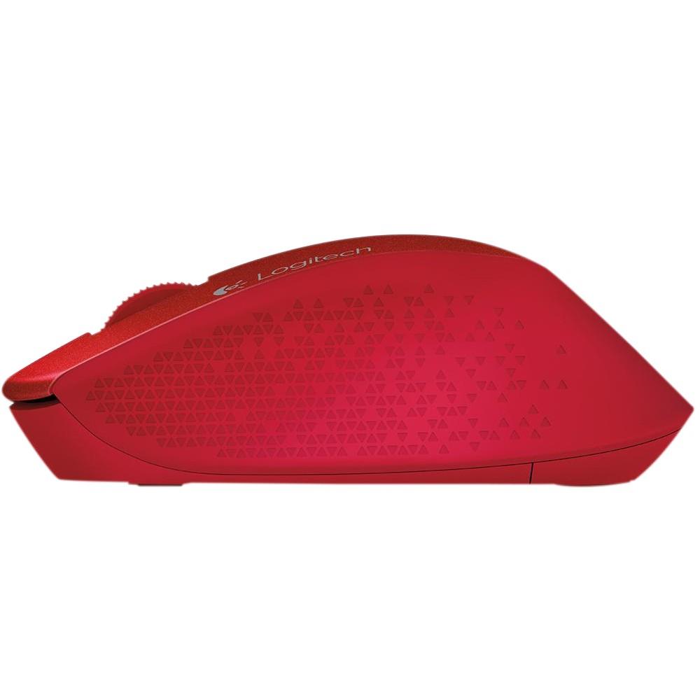 Mouse Logitech Sem Fio Nano M280 Vermelho