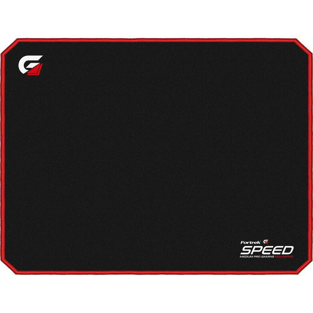 Mouse Pad Gamer FORTREK (440x350mm) SPEED MPG102 Vermelho