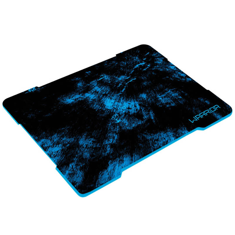 Mouse Pad Gamer Multilaser Warrior Azul - AC288