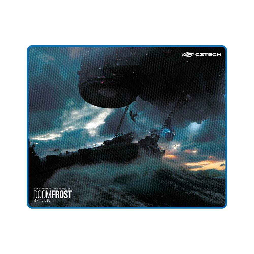 Mousepad Gamer C3 Tech Doom Frost, Speed, Grande (430x350mm) - MP-G510