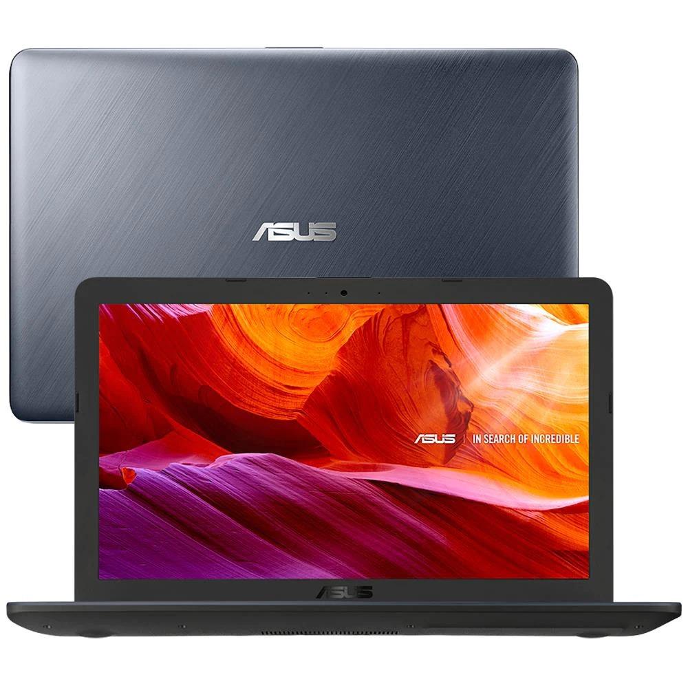 Notebook Asus Vivobook, Intel Core i5-8250U, 8GB, 256GB SSD, Windows 10, Tela Full HD 15.6?, Prata  -  X543UA-DM3457T