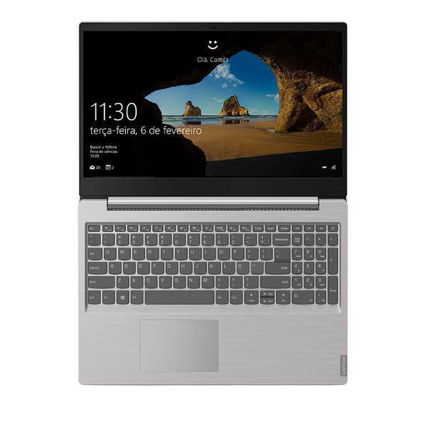 Notebook Lenovo S145, Processador I7 1065G7, Memoria 8GB, Armazenamento 256GB SSD, Tela 15,6, S.O Windows 10 - 82DJ0000BR