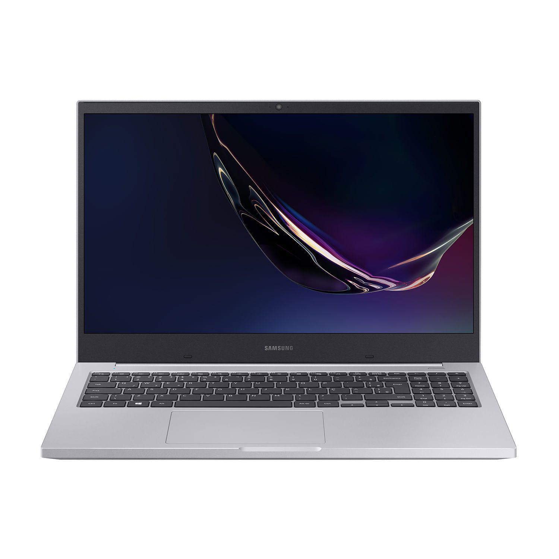 Notebook Samsung Book X50, Processador Intel Core i7 10510U, Sistema Windows 10 Home, Memória RAM 8GB, Armazenamento HD 1TB, Placa de Vídeo GeForce MX110 2GB, Tela 15.6'' HD LED, Prata