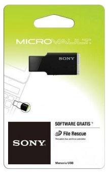 PenDrive Sony 32GB, Mini, USB 2.0, Preto - USM32M2