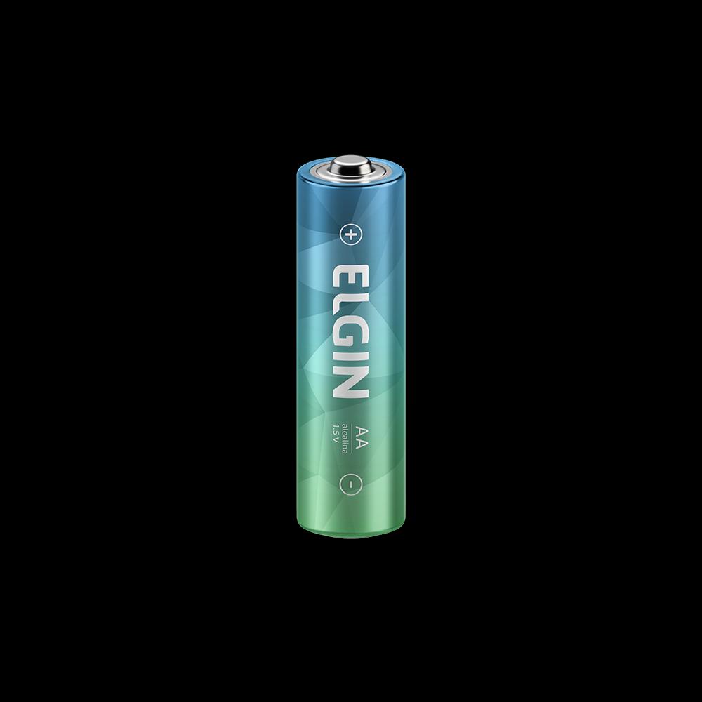 Pilha Alcalina Elgin Pequena AA C/2 - 82152