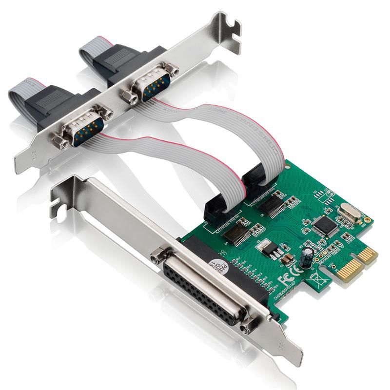 Placa Controladora Multilaser PCI-Express X1, 2 Serial, 1 Paralela - GA128