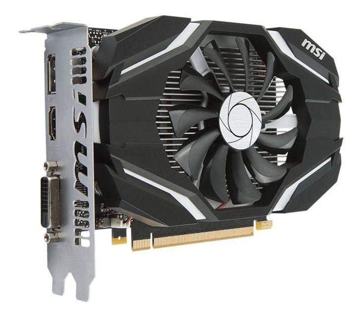 Placa de Vídeo MSI GeForce GTX 1050 2GB - 2GTOC - DUAL FAN