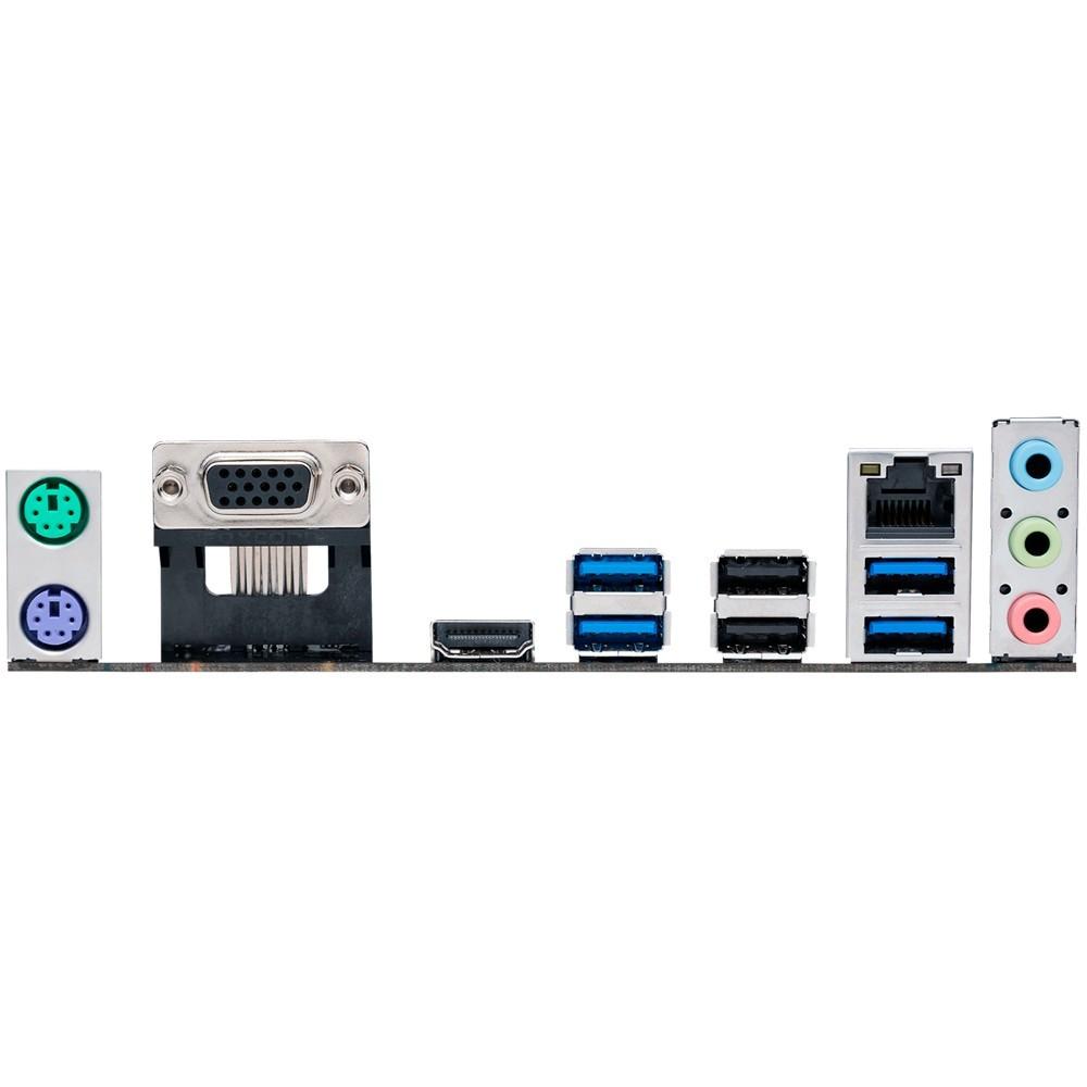 Placa Mãe ASUS AMD AM4 mATX PRIME A320M-K/BR, VGA+HDMI ONBOARD, 2X DDR4 2400MHZ(MAX 32GB) - P/ AMD Rayzen