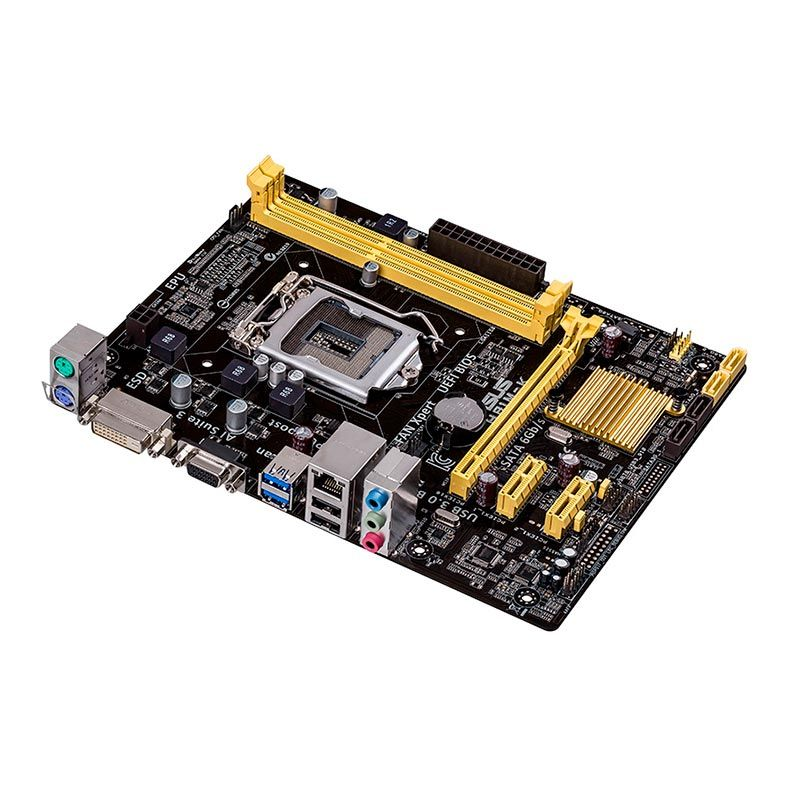 Placa Mae Asus H81M-K, Intel® Socket 1150 para 4 ª Geração, 2 Slots de memória DDR3