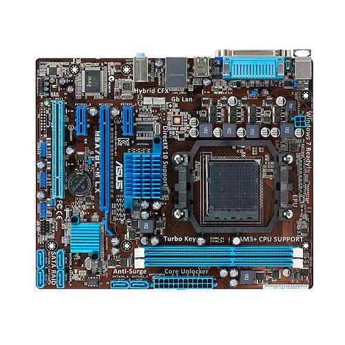 Placa-Mãe ASUS p/ AMD AM3+ mATX M5A78L-M LX/BR, 2xDDR3 VGA, PCIe x16, Porta Paralela e Serial