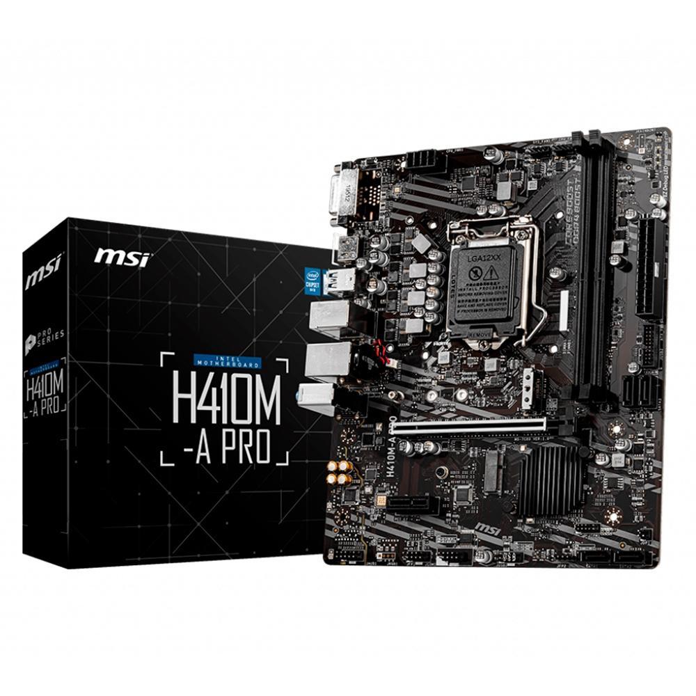 Placa-Mãe MSI H410M-A Pro, Intel LGA 1200, mATX - M.2