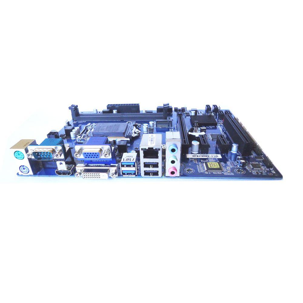 Placa Mãe PC-WARE IPMH310 PRO P/ Intel 8ª Geração, Socket 1151, Chipset Intel H310, 2x DDR4 (Max 32GB), VGA/DVI/HDMI, LAN 10/100/1000, SATA 3, USB 3.0, PCI Express 16x / x1
