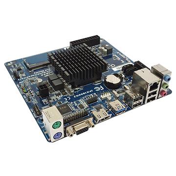 Placa Mãe PC-Ware IPX1800G2 DDR3 (Slot SODIM) + Processador Intel J1800 2.41GHz Dual Core