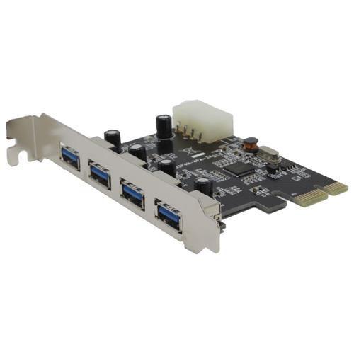 Placa PCI-Express X1 C/ 04 Portas USB 3.0/2.0