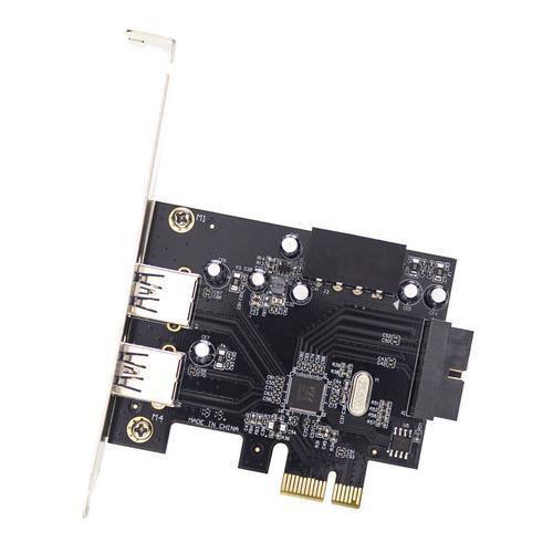 Placa PCI-Express X1 C/ 2 Portas USB 3.0/2.0