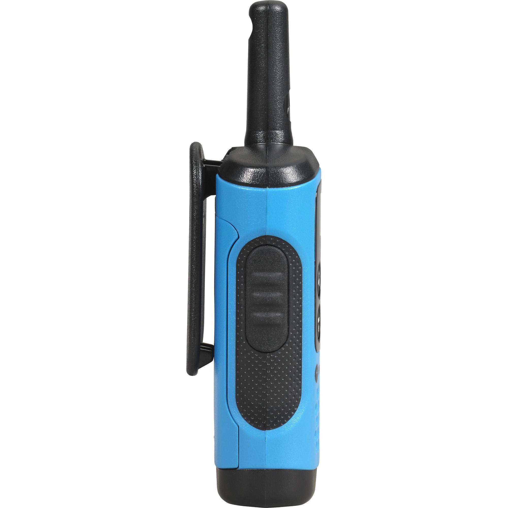 Rádio Comunicador Motorola Talkabout T100BR 25km - Azul