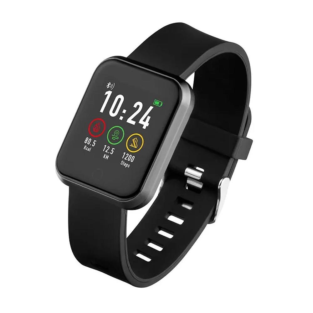 Relogio Multilaser Smartwatch Atrio Londres, Bluetooth, Monitor Cardíaco, À Prova d´Água, Preto - ES265