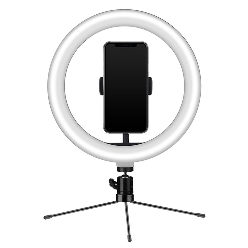 Ring Light USB Tripe 18cm Iluminador e Suporte Smartphone - Mymax