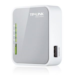 Roteador TP-Link 150 Mbps Wireless 3G/4G TL-MR3020