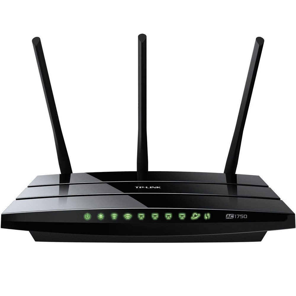 Roteador TP-Link Wireless Gigabit Dual Band Archer C7 - AC1750