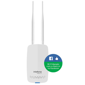 Roteador Wireless 300 Mbps com check-in no Facebook - Intelbras Hotspot 300