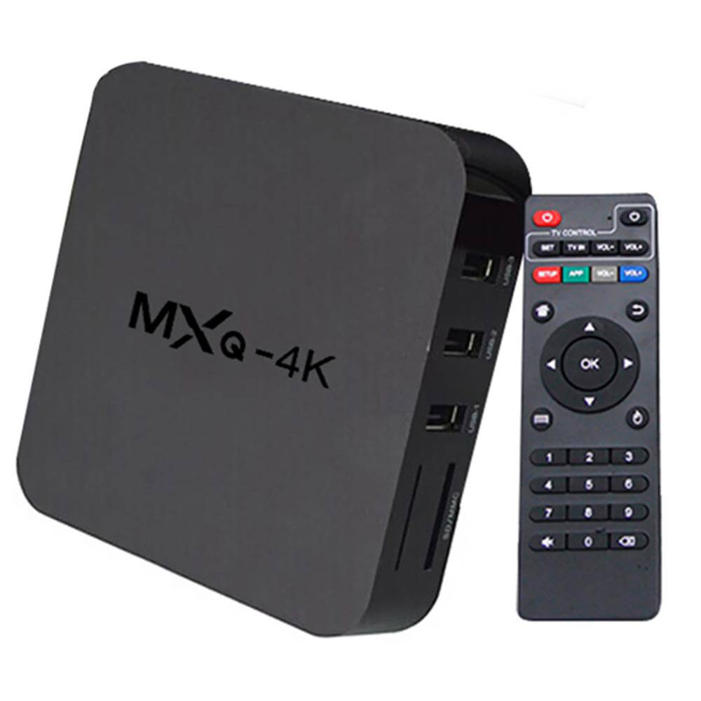 TV Box MXQ PRO 3GB RAM e 16GB ROM 4K/Hdmi/WI-FI Android 9.0