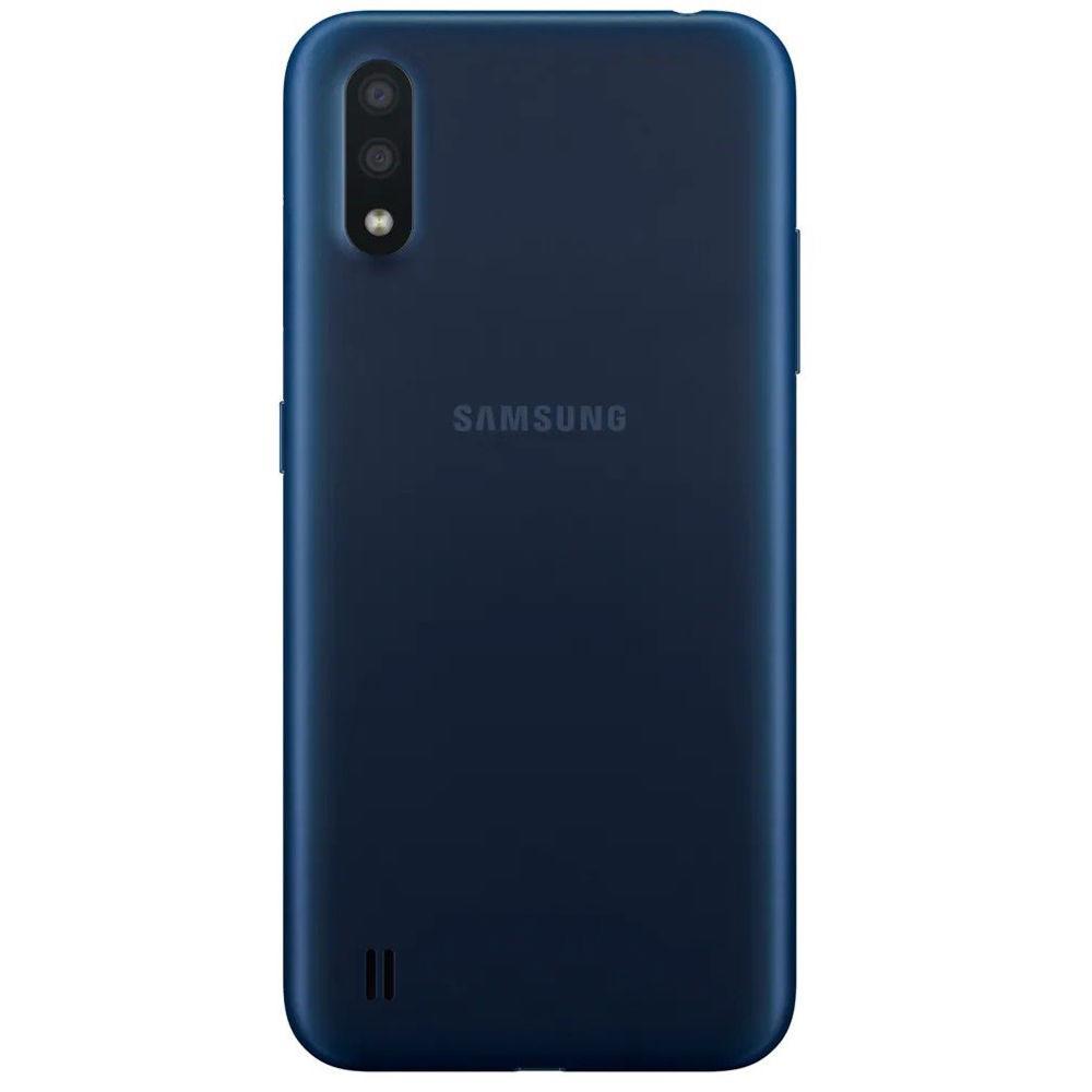 Smartphone Samsung Galaxy A01, 32GB, 13MP, Tela 5.7´, Azul - SM-A015MZKSZTO