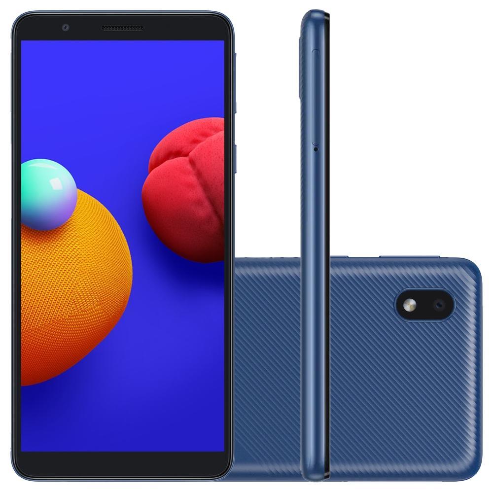 Smartphone Samsung Galaxy A01 Core, 32GB Armazenamento , Camera de 8MP, Tela 5.3´, Cor Azul - SM-A013MZBKZTO