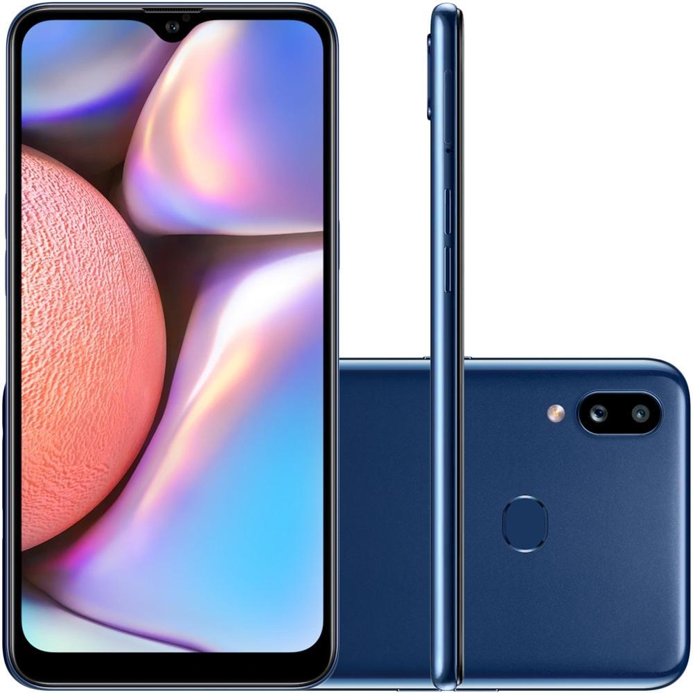 Smartphone Samsung Galaxy A10s, 32GB, 13MP, Tela 6.2´ , Azul - SM-A107MZBDZTO