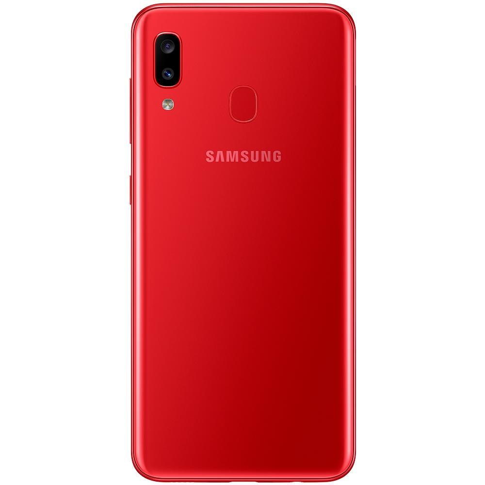 Smartphone Samsung Galaxy A20, 32GB, 13MP, Tela 6.4´, Vermelho - SM-A205G/32DL