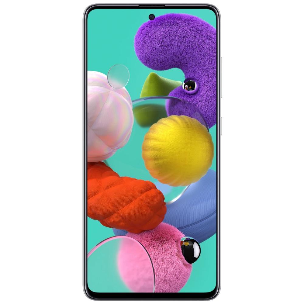 Smartphone Samsung Galaxy A51, 128GB, 48MP, Tela 6.5´, TV Digital, Branco - SM-A515FZWBZTO
