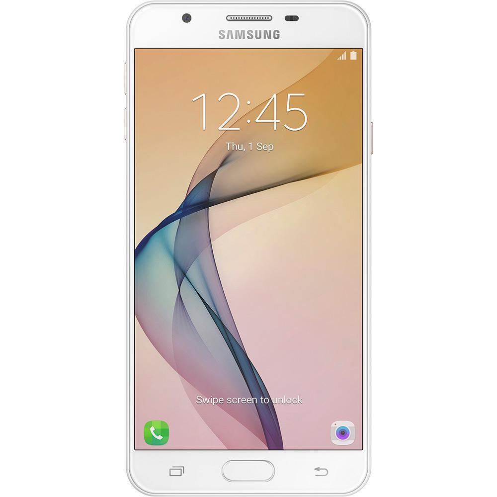 Smartphone Samsung Galaxy J7 Prime SM-G610M Octa Core 1.6Ghz, Android 6.0.1, 13MP, 32GB, Tela 5.5 Leitor Digital, Dual Chip - Dourado