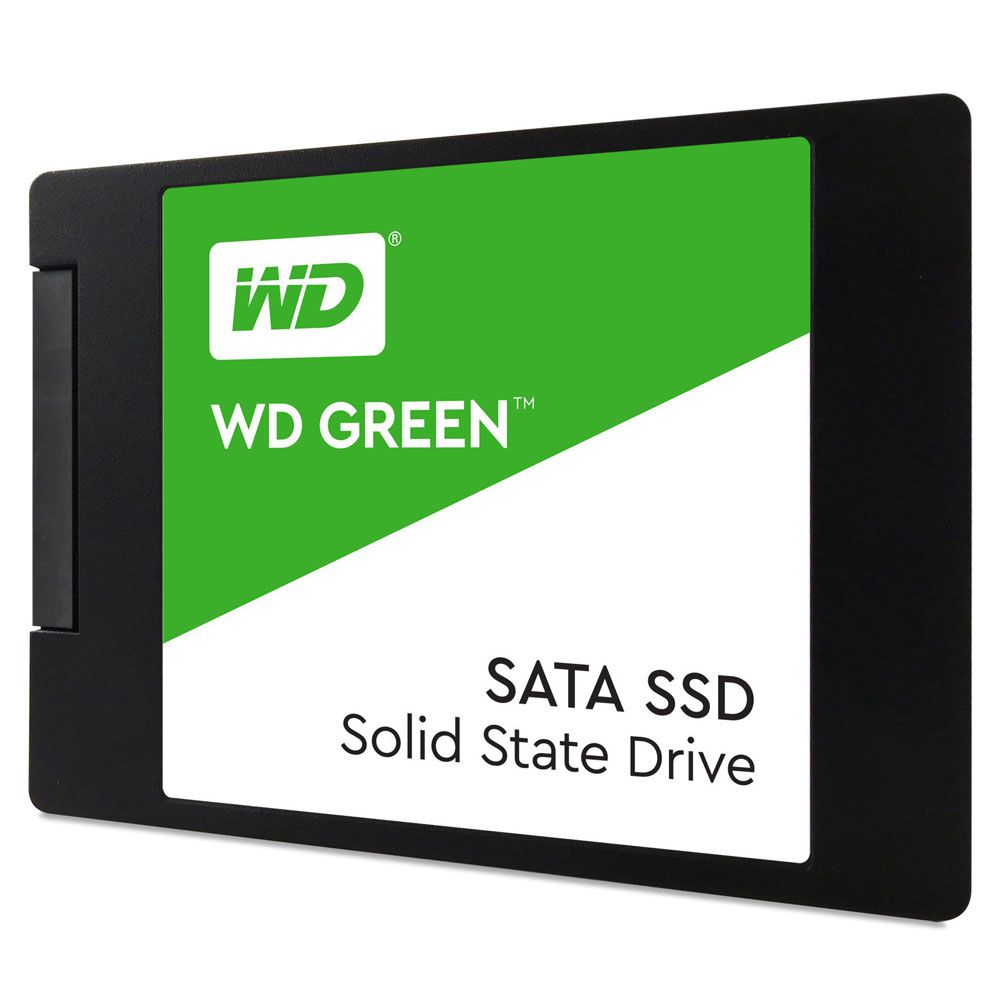 SSD 120GB - Western Digital - Green 2.5´ - SATA III 6Gb/s  - WDS120G2G0A