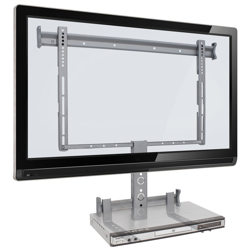 """Suporte Multivisão de Parede Fixo para TVs LCD / PLASMA / LED de 32"""" a 63"""" - STPF63-COMBO"""