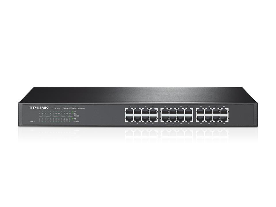 Switch de 24 portas 10/100Mbps, Montável em Rack - TL-SF1024