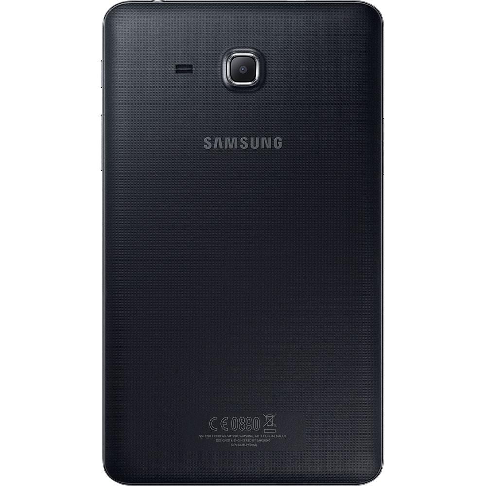 """Tablet Samsung Galaxy Tab A T280N Android 5.1, Memória Interna 8GB, Câmera de 5mp, Tela de 7"""", Preto"""
