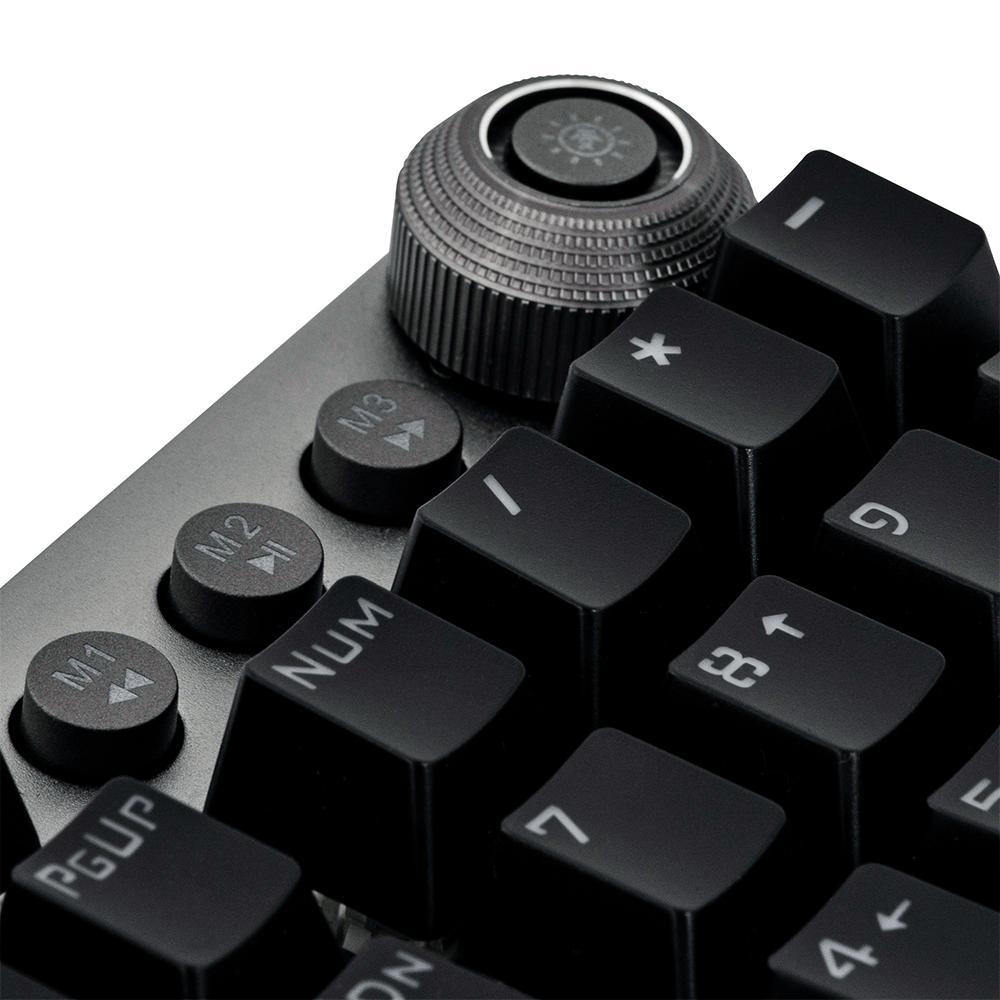 Teclado Mecânico Gamer Fortrek K7+ RGB, GPro, Rainbow, Switch KRGD Blue, ABNT2