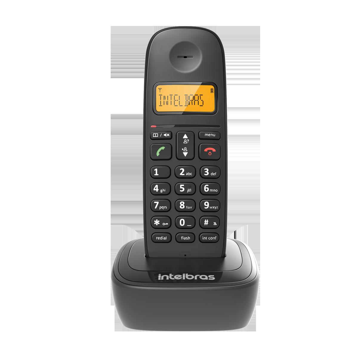 Telefone S/Fio Intelbras Ts 2510 Ramal Bina Interface Chip