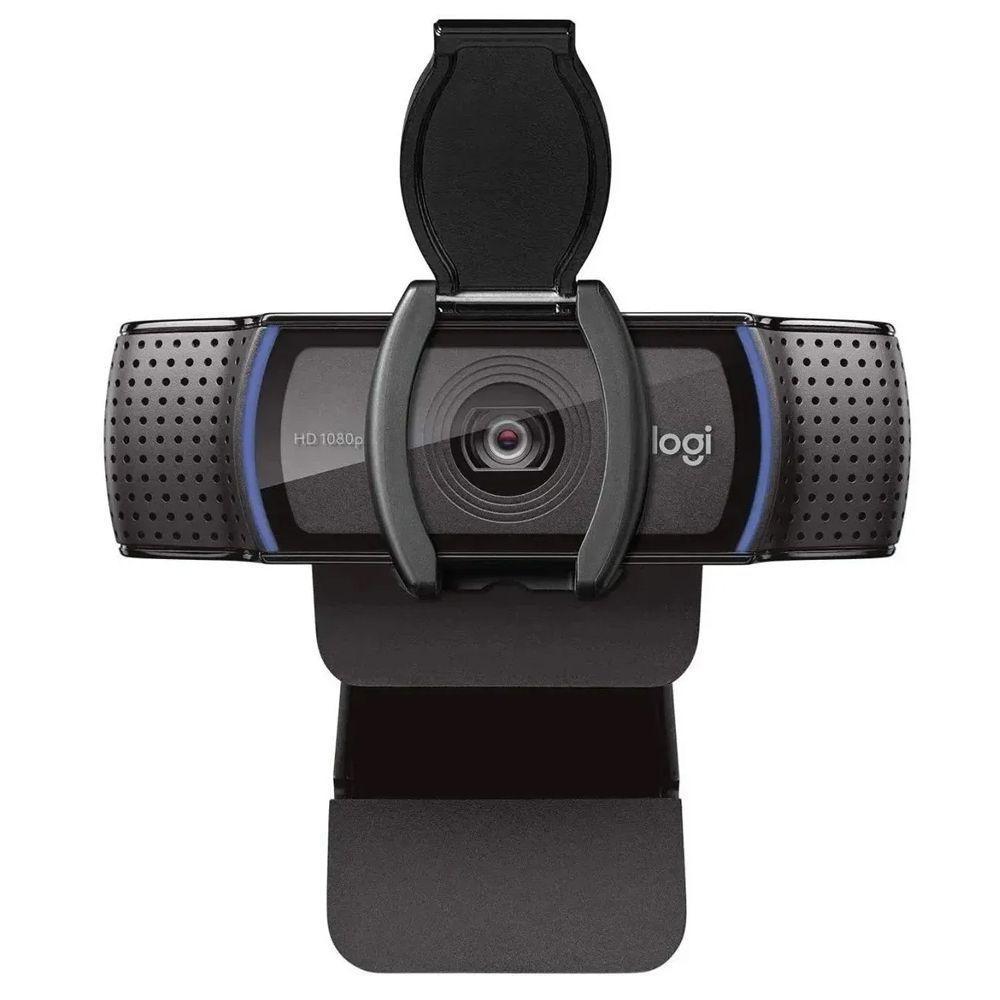 WEB CAM Usb-a Full HD 1080p C920e com Microfone Preto Logitech - 960-001360