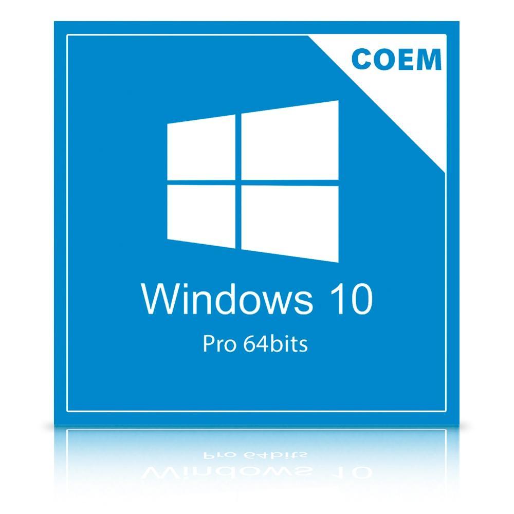 WINDOWS 10 PRO OEM - 64 BITS FQC-08932