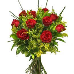Buquê Tradicional 10 Rosas