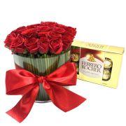 Charme das Mini Rosas e Ferrero