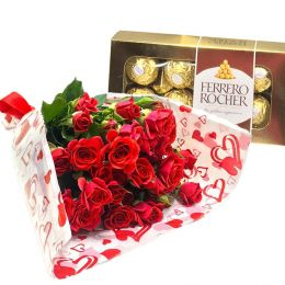 Ferrero Rocher e Mini Rosas