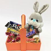 Kit Coelhinho e Chocolates