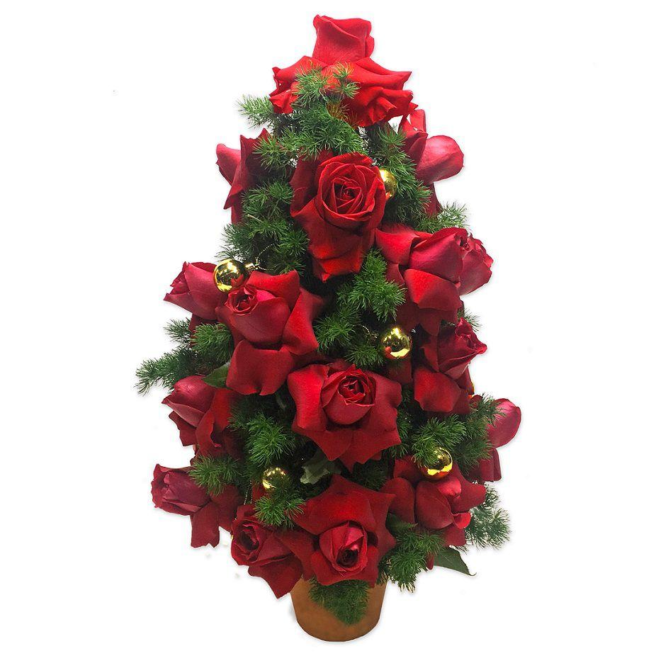 Árvore de Natal de Rosas