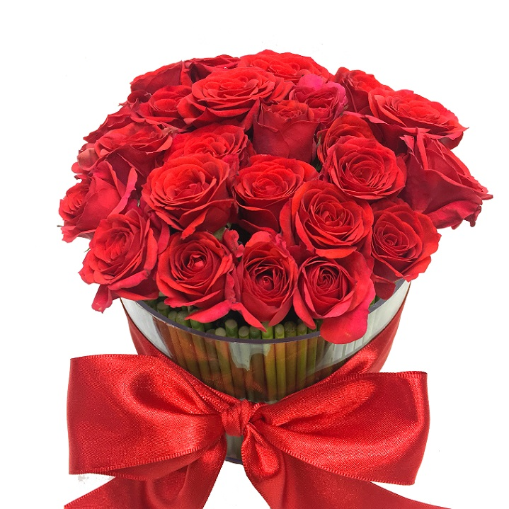 Charme Mini Rosas e Ferrero Rocher