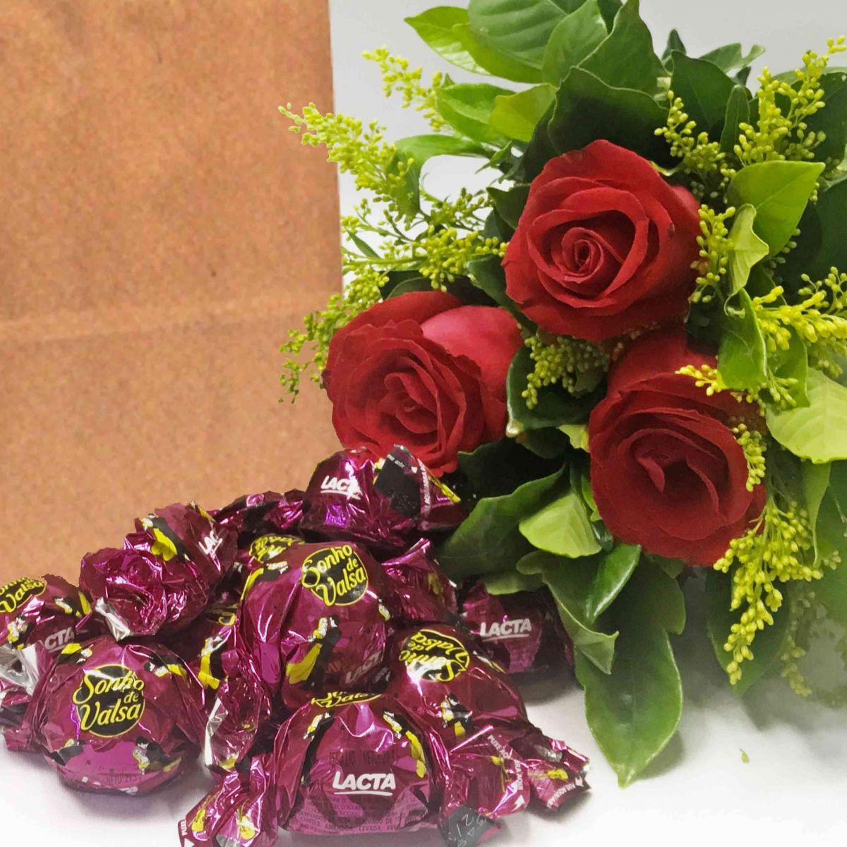 Rosas Vermelhas e sonho de valsa