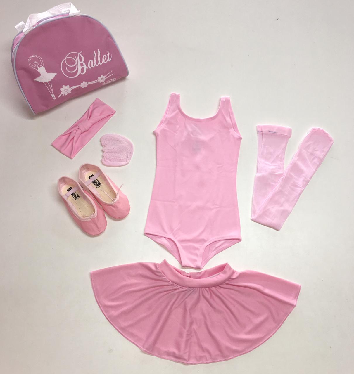 Kit Roupa De Ballet Infantil
